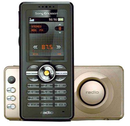 Sony ericcson R300, Radio y Simplicidad en uno solo