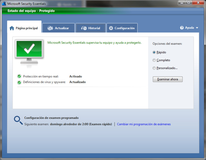 Analisis Completo | Microsoft Security Essentials Final