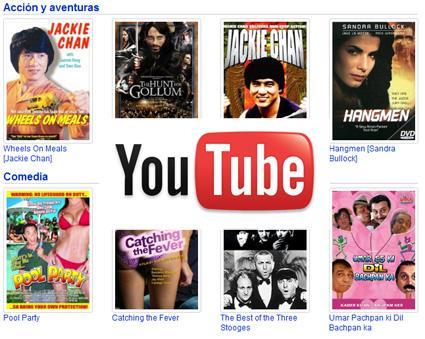 youtube movies Nuevo Servicio de Youtube: Ver Peliculas Online Gratis