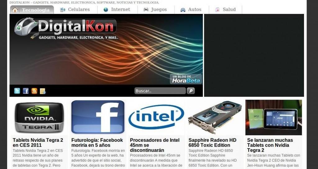 Digitalkon, Noticias de Tecnologia y Gadgets