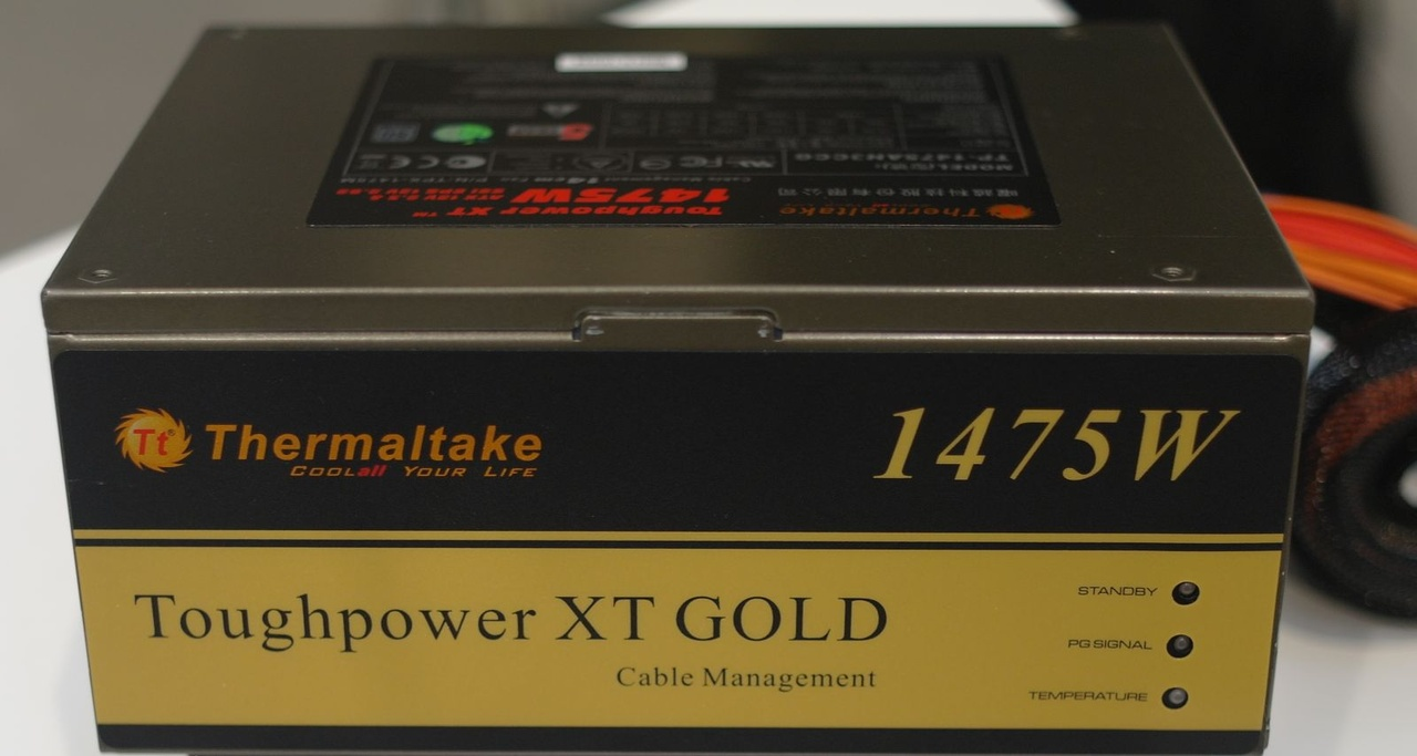 Thermaltake presenta en CeBIT sus PSU Toughpower XT Platinum y Gold
