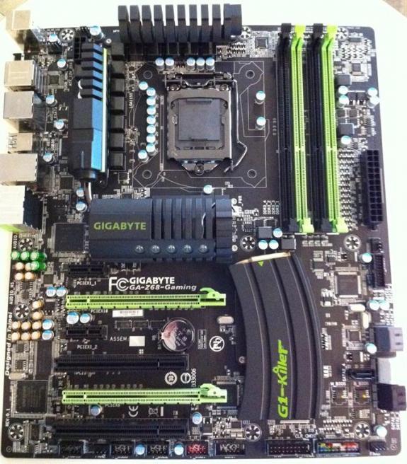 Gigabyte muestra nuevo Motherboard G1-Killer series basado en el Chipset Z68
