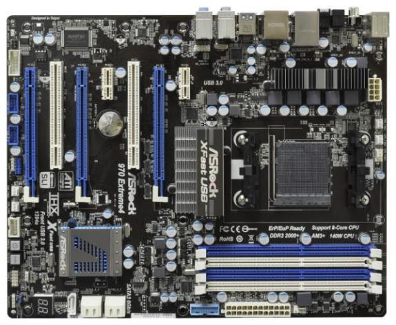 ASRock introduce oficialmente los Motherboards  990FX Extreme4 y 970 Extreme4
