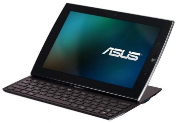 asuseeepadslider01 575x401 La tablet Asus says Eee Pad Slider llegará en agosto