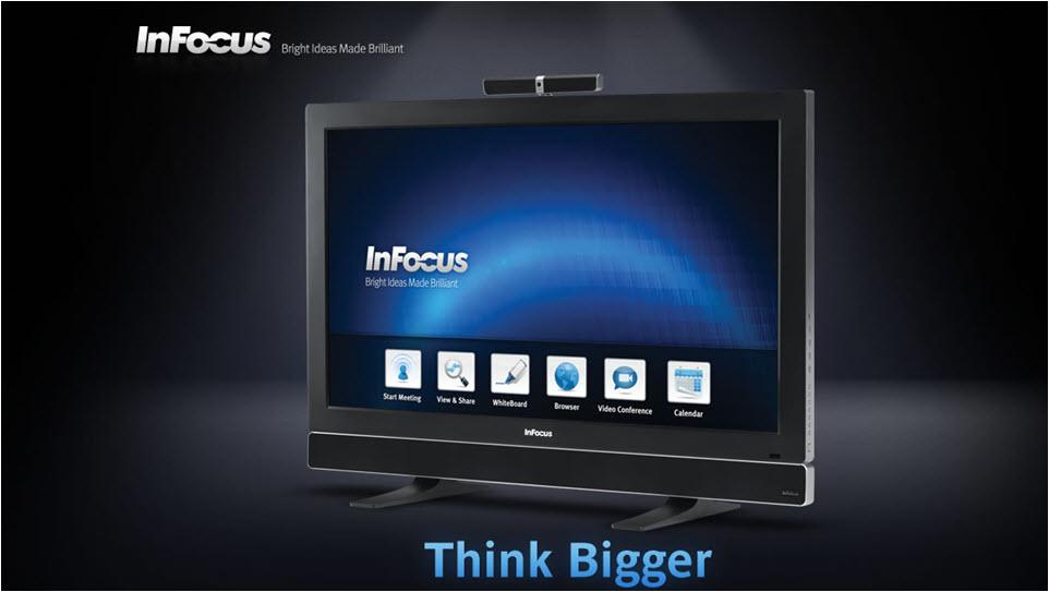descarga InFocus Monopad, la nueva tablet de 55 pulgadas