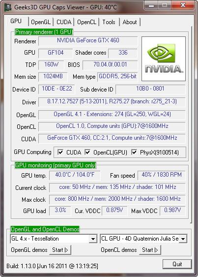 GPU Caps Viewer y GPU Shark reciben actualizaciones