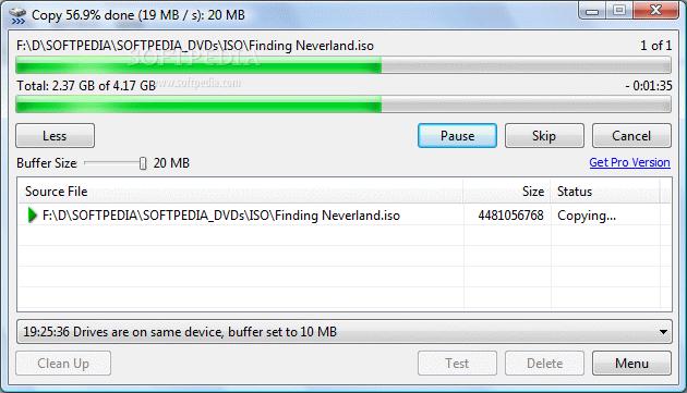 TeraCopy 01large Nuevo TeraCopy 2.2 para Descargar