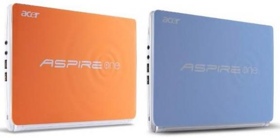 Las Netbooks Aspire One Happy 2 de Acer llegan a Estados unidos