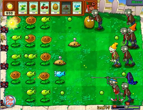 New Plants vs Zombies, Juego gratis para PC