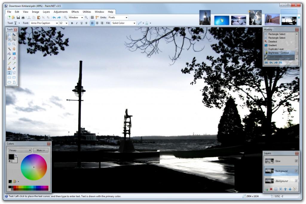 Descargar Paint.NET 3.5.9
