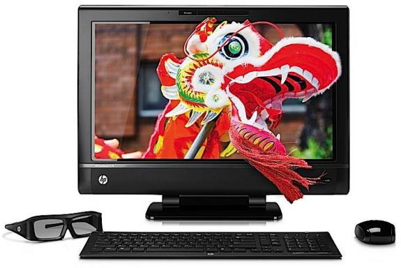 HP introduce la All In One TouchSmart 620 3D