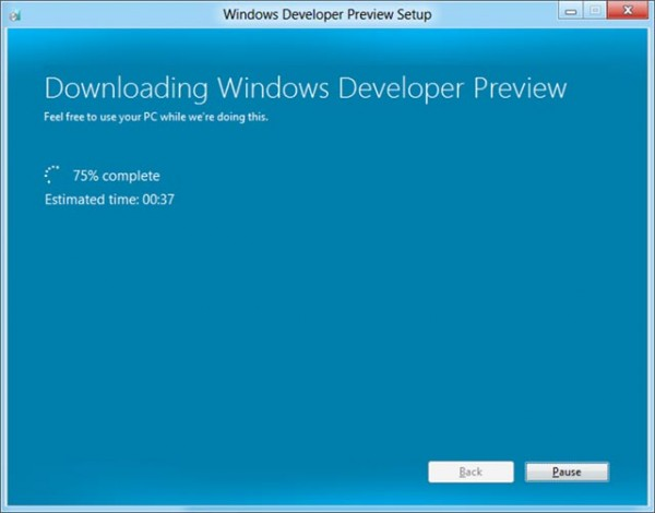 Microsoft | Windows 8 tendrá actualización de SO por internet