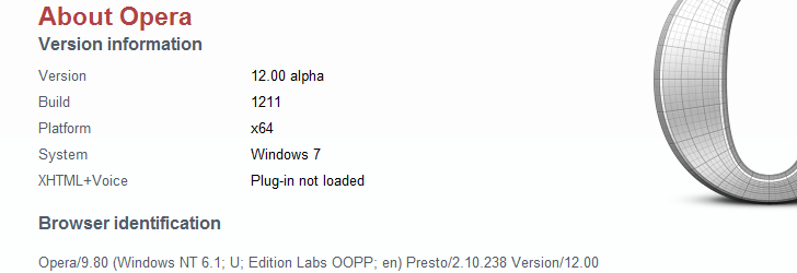 Opera de 64 Bits Disponible