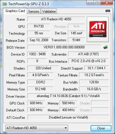 Descargar GPU-Z 0.5.6