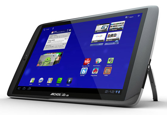 Ya esta disponible para ordenar la tablet Archos 101 G9 con Android 4.0 ICS