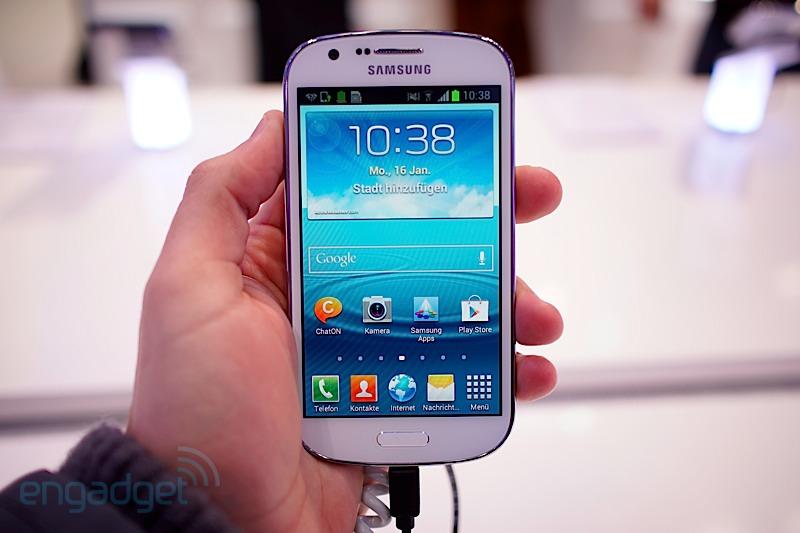 Samsung presenta su smartphone Galaxy Express en la CeBIT 2013