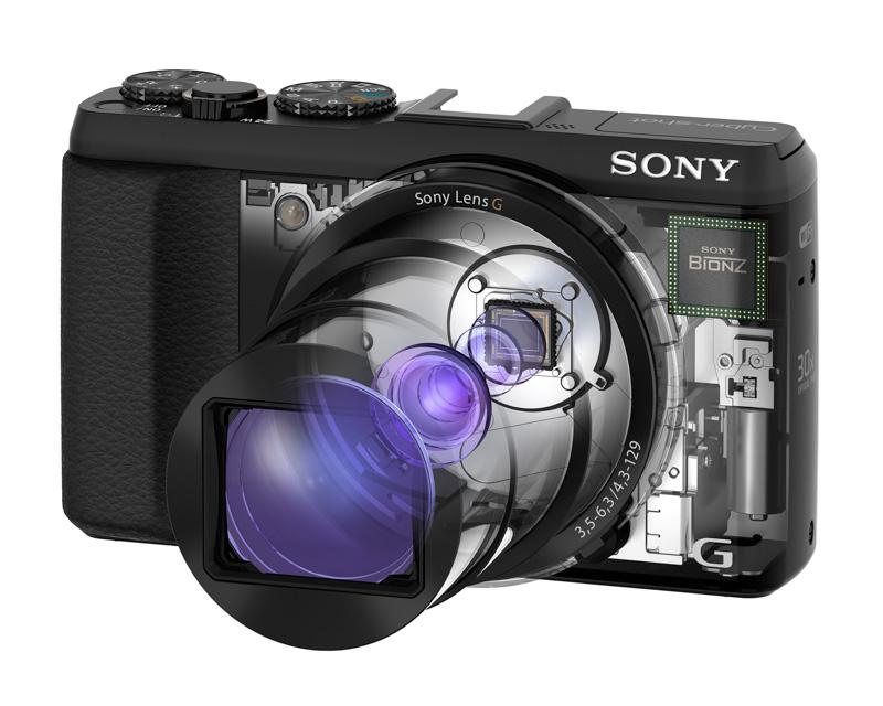 Sony Cyber-shot HX50V | La compacta mas liviana del mundo