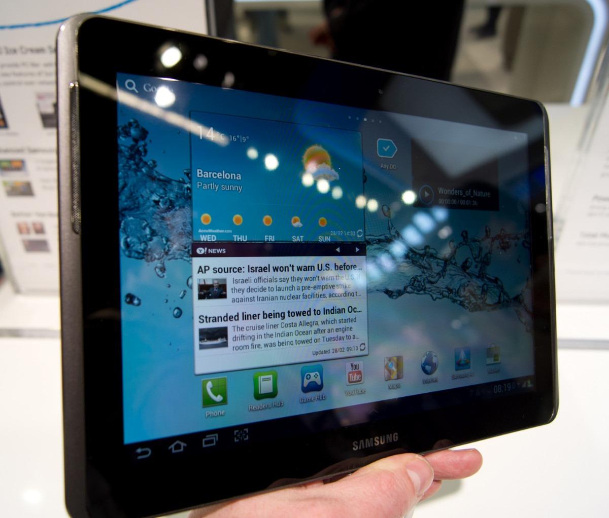 samsung tablet 12 pulgadas