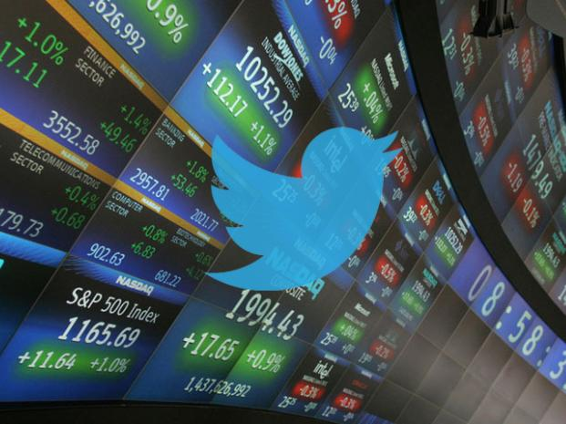 Twitter libera sus Acciones a la Bolsa