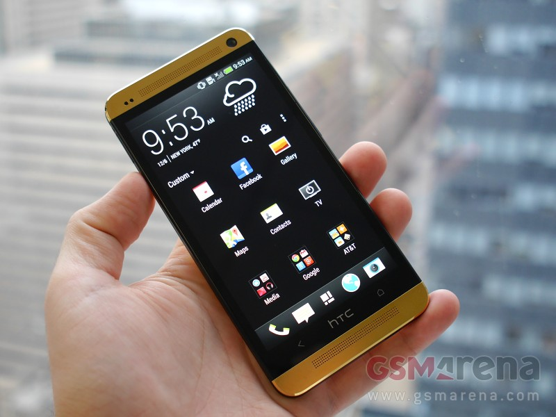 HTC One Gold Edition 1