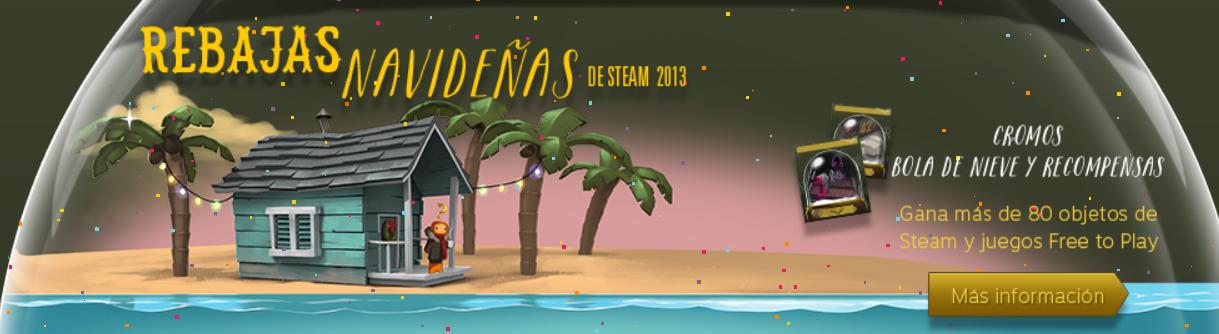 steam rebaja navidad 2013