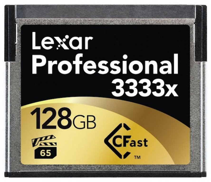 Lexar 3333x CFast 2.0, la Tarjeta de Memoria mas rápida del mundo