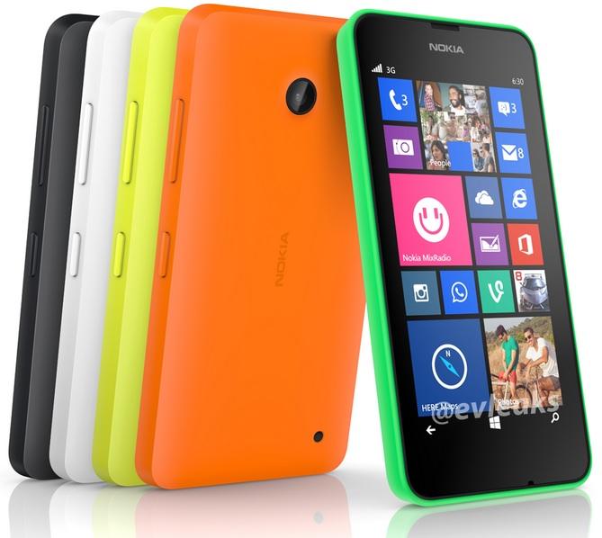 Nokia Lumia 630 con Windows Phone 8.1 filtrado en imagen