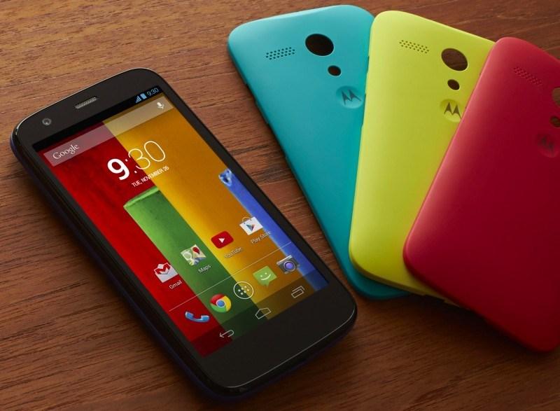 El Motorola Moto G Color Edition llegará pronto a la Argentina