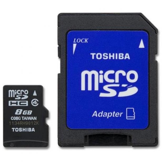 Toshiba anuncia las primeras Tarjetas de Memorias MicroSD con interface UHS-II