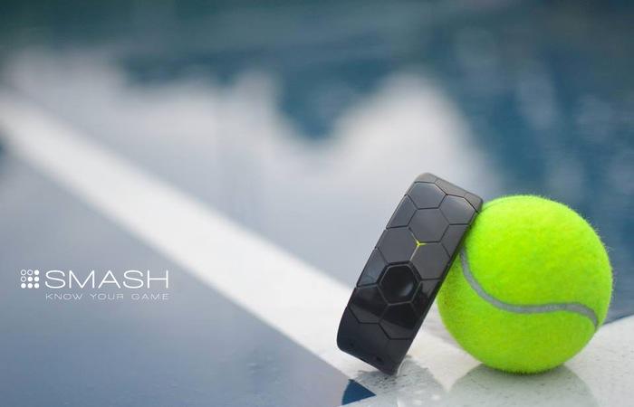 Smash Tennis Tracker, una muñequera inteligente para los tenistas