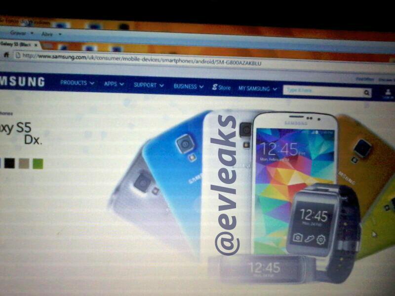 Samsung Galaxy S5 Dx (S5 Mini) filtrado con especificaciones