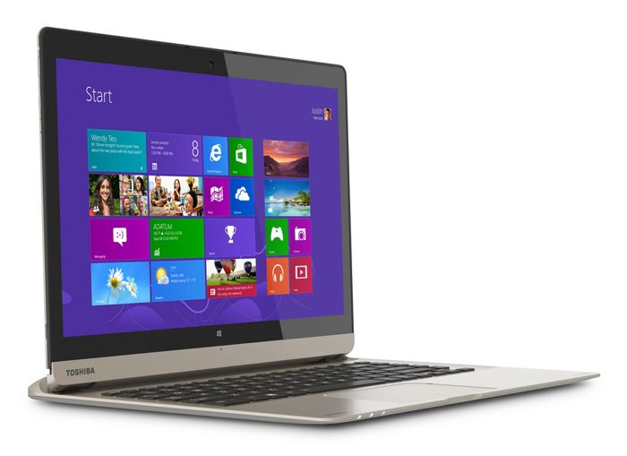 Toshiba Satellite Click 2 develada