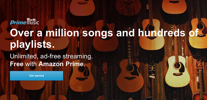 Amazon anuncia su servicio de música en Streaming Amazon Prime Music