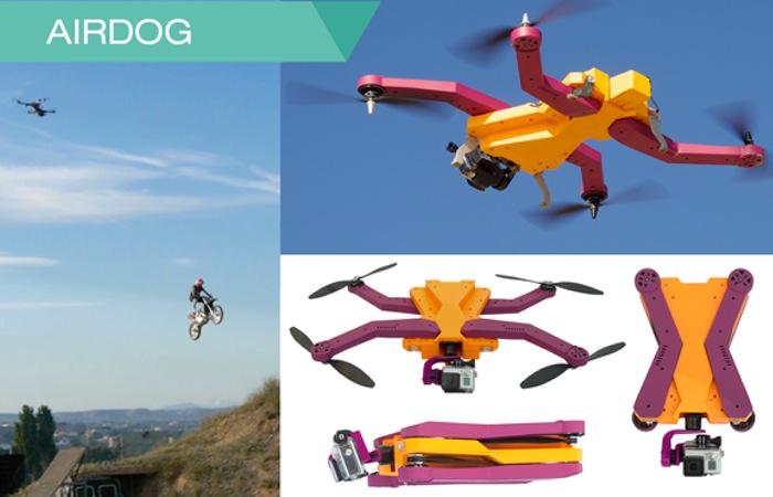 Drone Airdog Auto Follow puede filmar todo mientras te sigue
