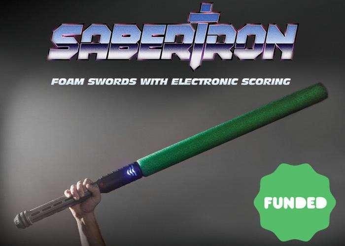 Espada Sabertron lleva el puntaje de tus peleas