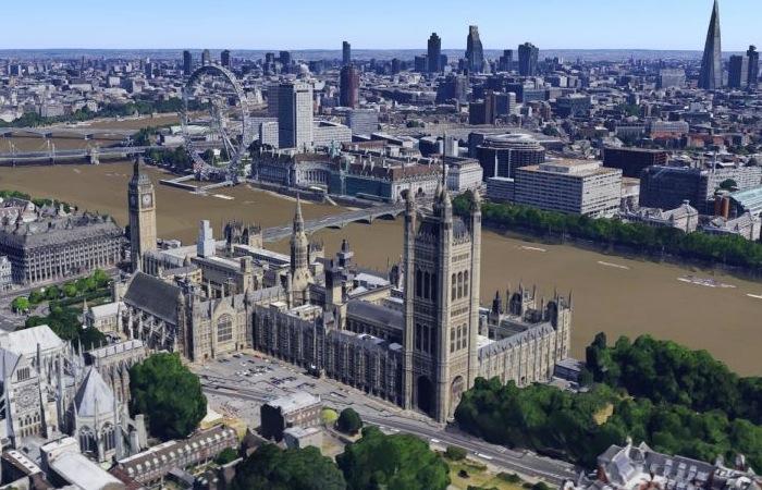 Google Earth y Google Maps ahora ofrecen imágenes de Londres en 3D