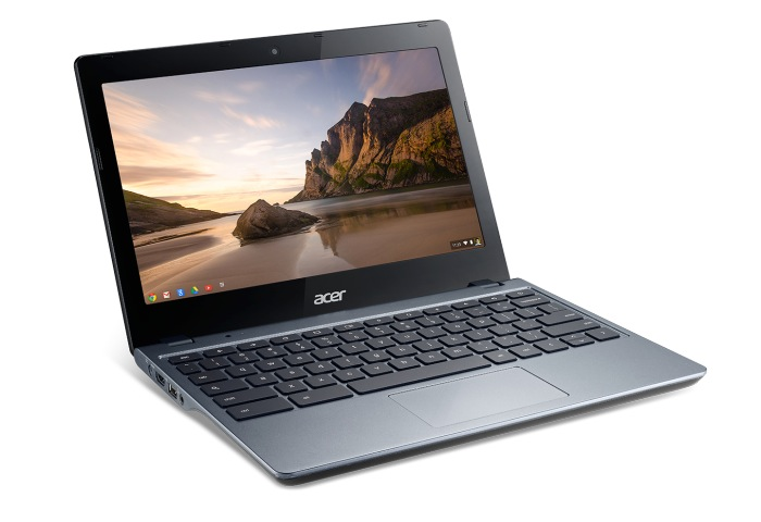 Chromebook Acer C720 con Intel Core i3 lanzado