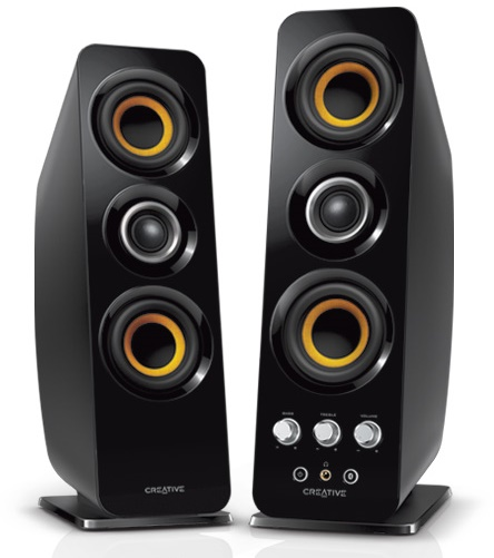 Nuevos Parlantes inalámbricos Creative T50 Wireless