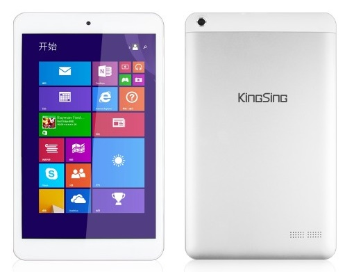 Kingsing W8, nueva Tablet asequible con Windows 8