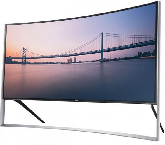 Samsung UN105S9W, nuevo Televisor curvo de 105 pulgadas