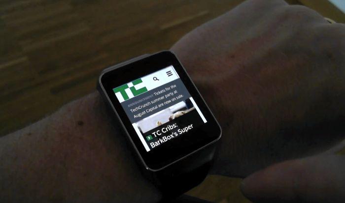 Android Wear ya tiene un navegador web
