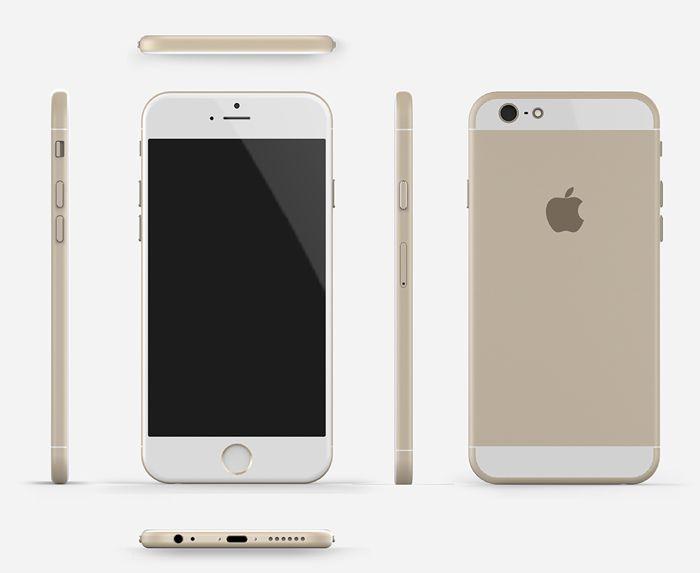 Así podría lucir el Apple iPhone 6