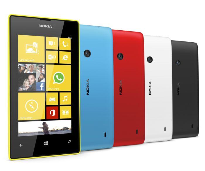 Microsoft Lumia 520 alcanza los 12 millones de activaciones