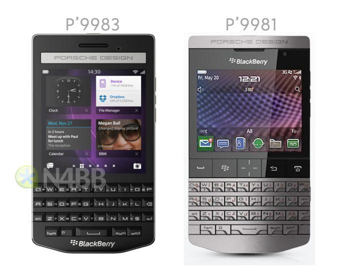 Smartphone BlackBerry Porsche Design P9883 Filtrado
