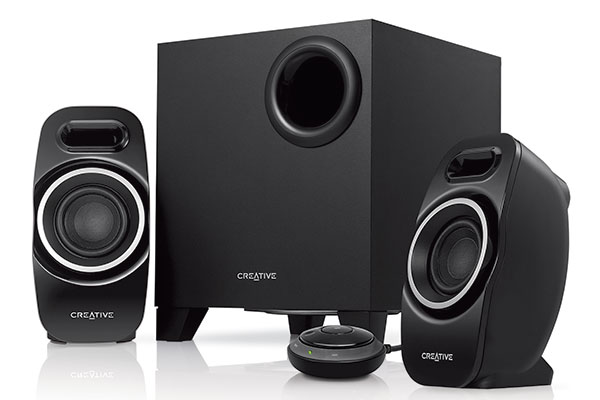 Creative anuncia sus Parlantes 2.1 T3250 Wireless