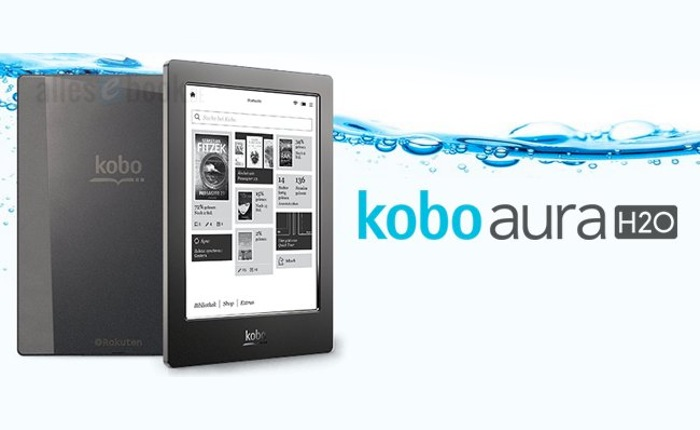 eBook Reader Kobo Aura H2O filtrado