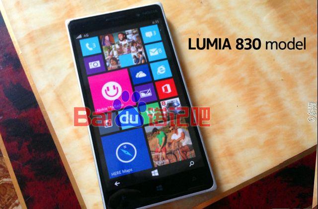 Presunto Nokia Lumia 830 filtrado
