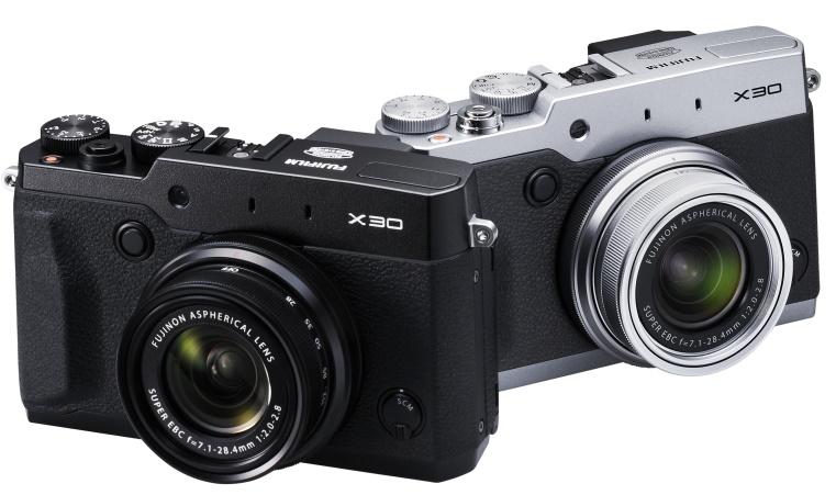 Nueva cámara compacta FujiFilm X30 presentada