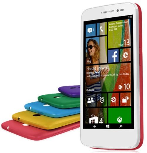 Alcatel POP 2, el primero smartphone con Windows Phone basado en 64 bits