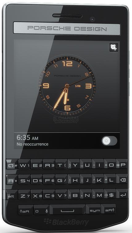 BlackBerry Porsche Design P'9983 presentado oficialmente